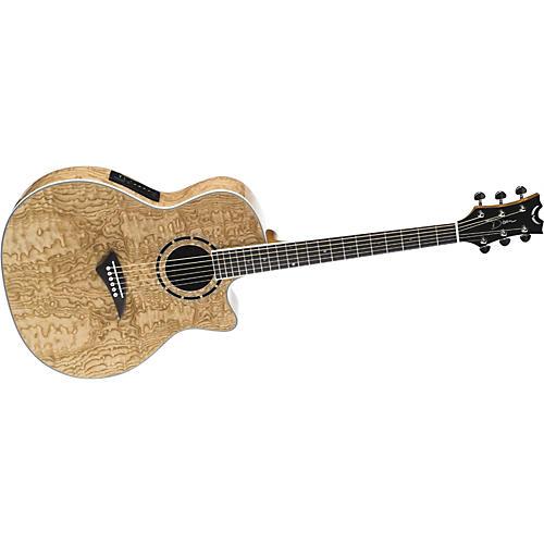 Dean Exotica Quilt Ash Acoustic Electric Guitar Musician
