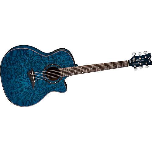 Dean Exotica Quilt Ash Acoustic-Electric Guitar w/Aphex