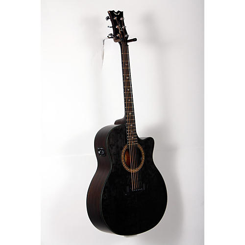 Dean Exotica Ultra Quilt Ash Acoustic-Electric Guitar-thumbnail
