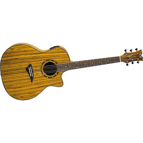 Dean Exotica Zebrawood Acoustic-Electric Guitar