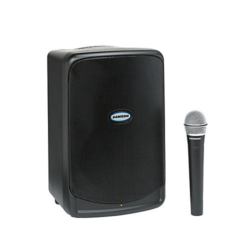 Samson Expedition XP40iw 40W Battery Powered Portable PA w/iPod Dock & Wireless Microphone-thumbnail