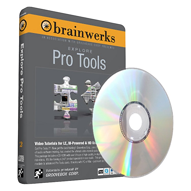 Brainwerks Explore Pro Tools 7 DVD Tutorial