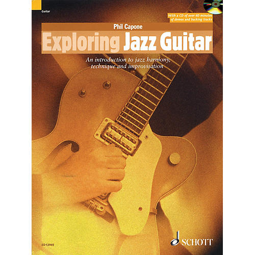Schott Exploring Jazz Guitar Guitar Series Softcover with CD Written by Phil Capone-thumbnail