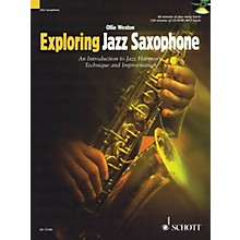 Schott Exploring Jazz Saxophone Woodwind Method Series Book with CD Written by Ollie Weston