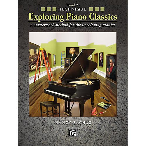 Alfred Exploring Piano Classics Technique Level 2-thumbnail