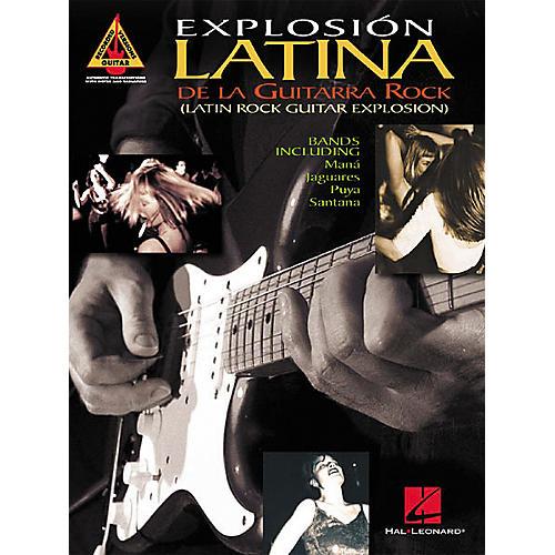Hal Leonard Explosion Latina De La Guitarra Rock Tab