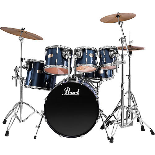 pearl export 5 piece fusion drum set with free 8 tom musician 39 s friend. Black Bedroom Furniture Sets. Home Design Ideas