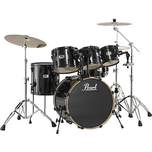 Pearl Export 5-Piece Fusion Floor Drum Set with Free 8