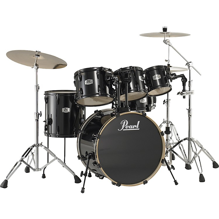 pearl export 5 piece fusion floor drum set with free 8 tom musician 39 s friend. Black Bedroom Furniture Sets. Home Design Ideas