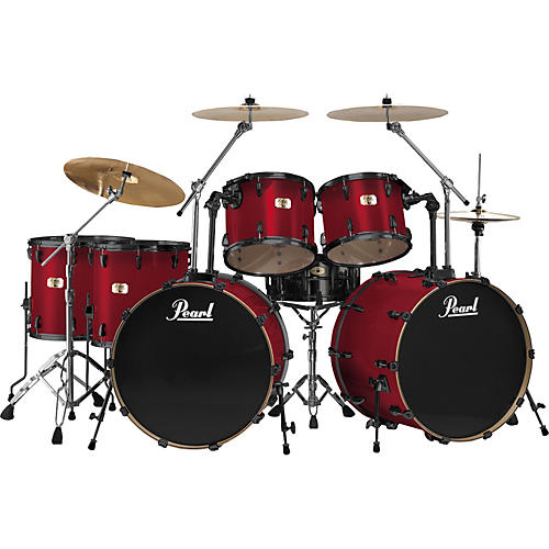 Pearl Export Double Bass 7 Piece Drum Set-thumbnail