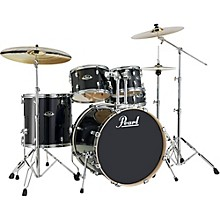 Pearl Export EXL New Fusion 5-Piece Drum Set with Hardware Black Smoke