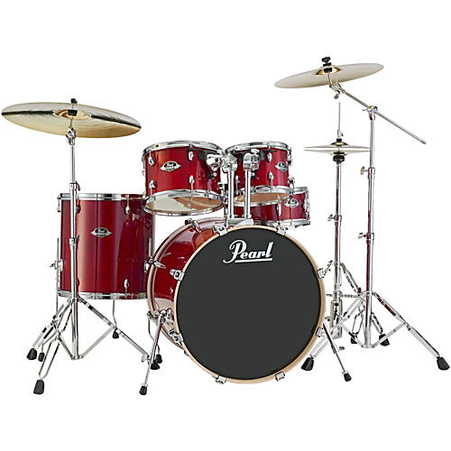 Pearl Export EXL New Fusion 5-Piece Drumset with Hardware Natural Cherry