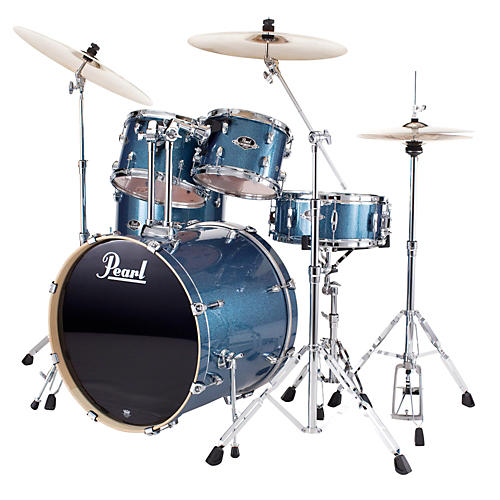 Pearl Export Fusion 5-Piece Drum Set with Hardware-thumbnail
