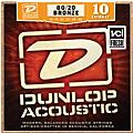 Dunlop Extra Light 80/20 Bronze Acoustic Guitar Strings  Thumbnail