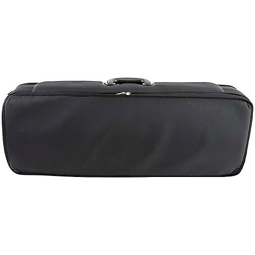 J. Winter Extra Light Series Adjustable Viola Case 15-16.5 in. Black with Wine Interior