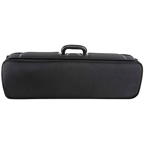 J. Winter Extra Light Series Violin Case Black with Blue Interior