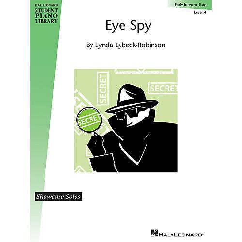 Hal Leonard Eye Spy Piano Library Series Book by Lynda Lybeck-Robinson (Level Early Inter)