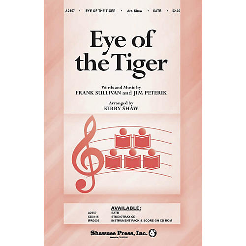 Shawnee Press Eye of the Tiger Studiotrax CD Arranged by Kirby Shaw-thumbnail