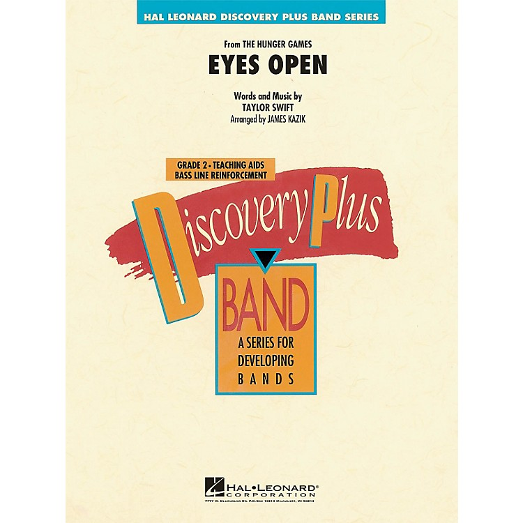 Hal Leonard Eyes Open (From Hunger Games) - Discovery Plus! Band Series Level 2