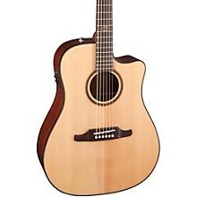 Fender F-1000CE Cutaway Dreadnought Acoustic-Electric Guitar