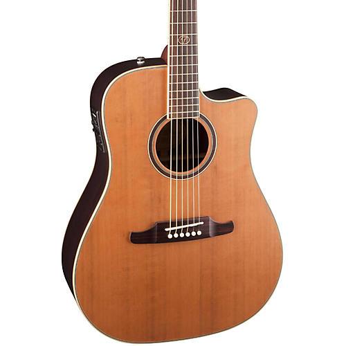 Fender F-1030SCE Cutaway Dreadnought Acoustic-Electric Guitar