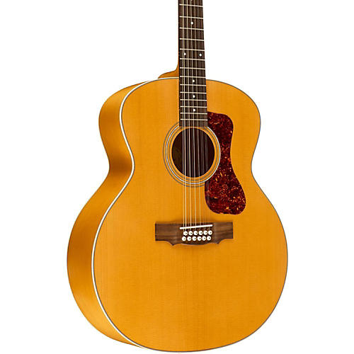 Guild F-2512E Deluxe 12-String Acoustic-Electric Guitar Natural