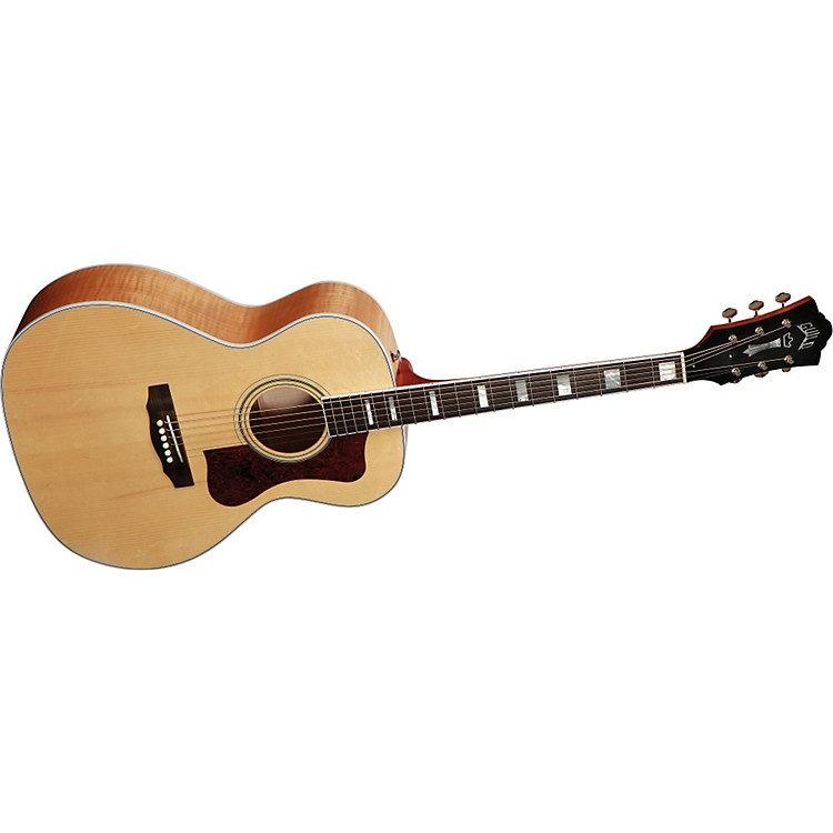 Guild F-47M Acoustic-Electric Guitar with DTAR Multi-Source Pickup System