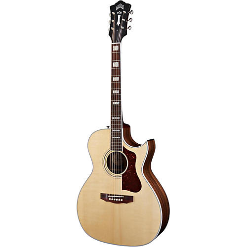 Guild F-47RC Acoustic-Electric Guitar with DTAR Multi-Source Pickup System