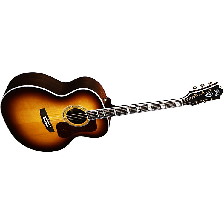 Guild F-50R Acoustic-Electric Guitar with DTAR Multi-Source Pickup System
