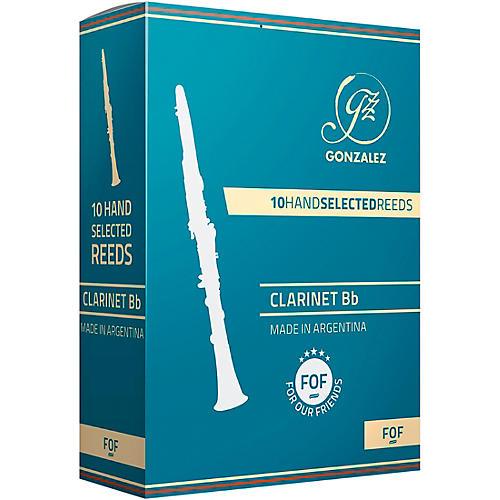 Gonzalez F.O.F Bb Clarinet Reeds