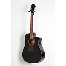 Fender F1020SCE Cutaway Dreadnought Acoustic-Electric Guitar Level 2 Black 888366053652