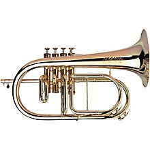 Adams F4 Selected Series Professional Bb Flugelhorn Red Brass-Nickel Silver Flare