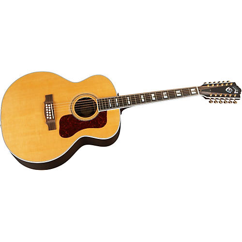 Guild F512 Vintage Jumbo 12-String Acoustic-Electric Guitar with DTAR Lock & Load Pickup System-thumbnail
