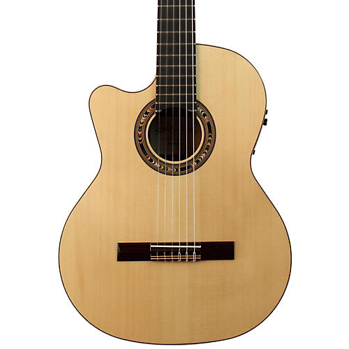 Kremona F65CW Left-Handed Classical Acoustic-Electric Guitar-thumbnail