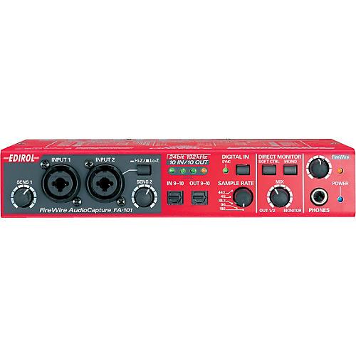 Edirol FA-101 FireWire Audio Capture Interface