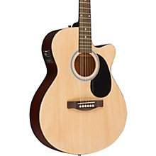 Fender FA-135CE Acoustic-Electric Guitar Natural