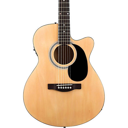 Fender FA135CE Concert Acoustic-Electric Guitar Natural