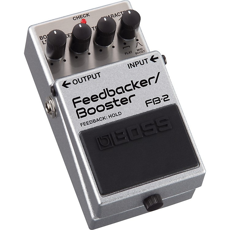 Boss FB-2 Feedbacker and Booster Guitar Effects Pedal