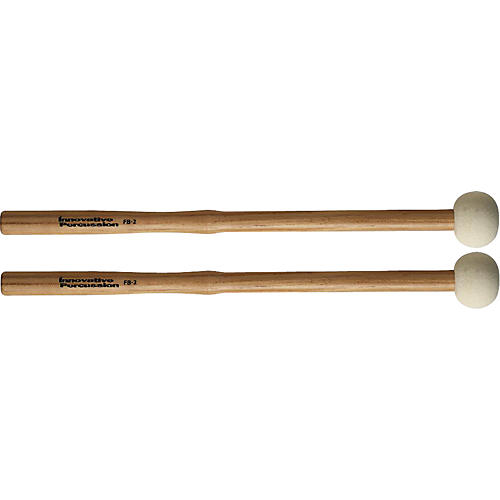 Innovative Percussion FB Field Series Marching Bass Drum Mallets Small Hard