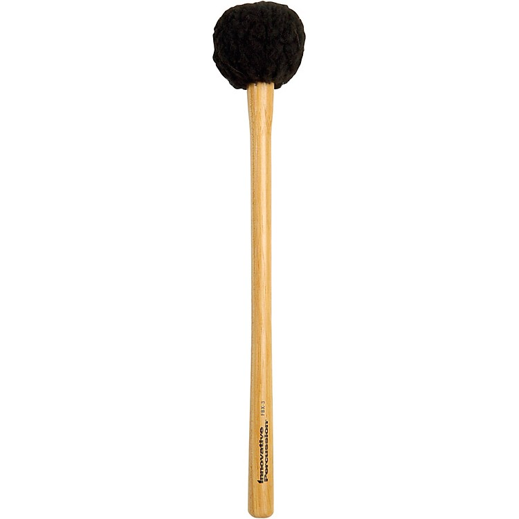 Innovative Percussion FBX Soft Field Series Marching Bass Mallets EXTRA LARGE SOFT TAPERED HICKORY HANDLE