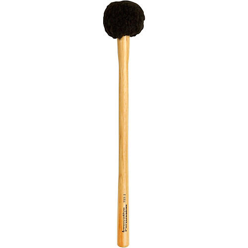 Innovative Percussion FBX Soft Field Series Marching Bass Mallets Small SOFT TAPERED HICKORY HANDLE