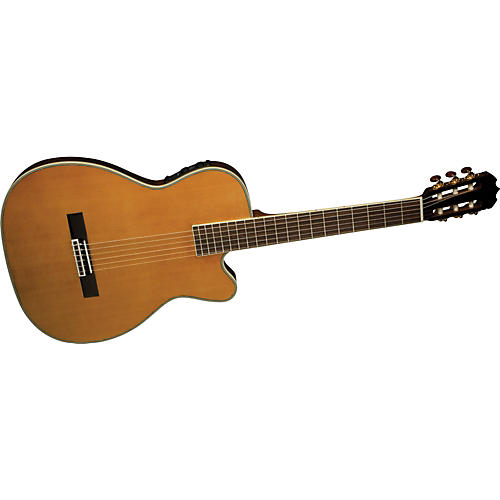 Alvarez FCC7603 Fusion Chambered Classical Acoustic-Electric Guitar with Fishman Aura IC-thumbnail