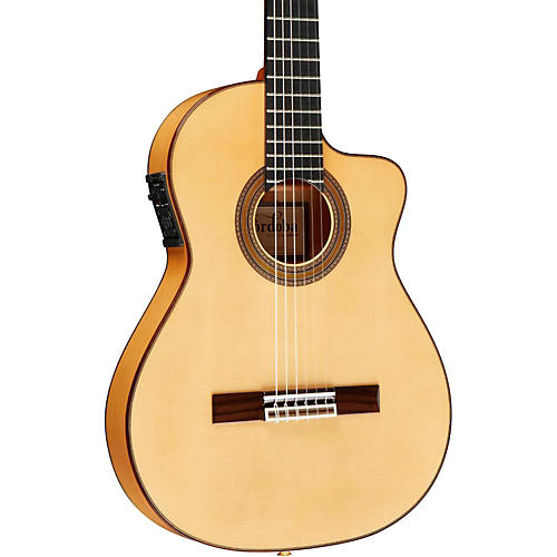Cordoba FCWE Gipsy Kings Reissue Nylon-String Flamenco Acoustic-Electric Guitar-thumbnail