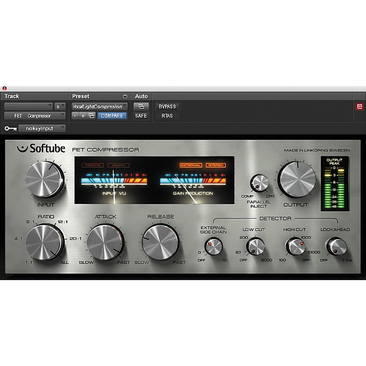 Softube FET Compressor Plug-in - TDM Software  Download