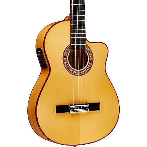 Manuel Rodriguez FF Cutaway Cypress Classical Acoustic-Electric Guitar