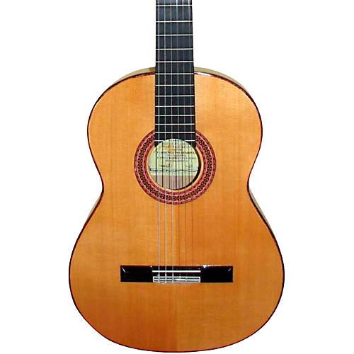 Manuel Rodriguez FF Flamenco Style Nylon String Guitar Natural