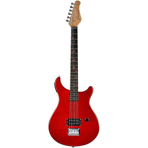 open box fretlight fg 511 standard electric guitar with built in lighted learning system red. Black Bedroom Furniture Sets. Home Design Ideas