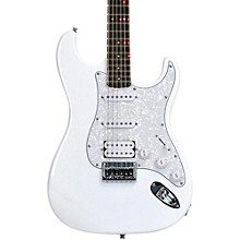 Fretlight FG-521 Electric Guitar with Built-in Lighted Learning System White