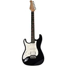 Fretlight FG-521  Left-Handed Electric Guitar with Built-in Lighted Learning System Black