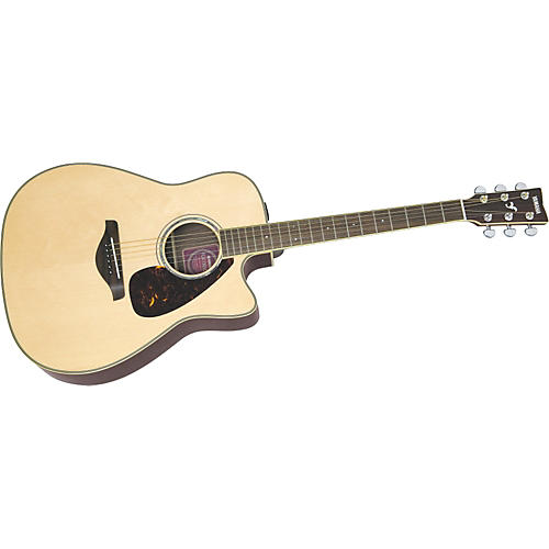 yamaha fg series fgx730sca acoustic electric guitar musician 39 s friend. Black Bedroom Furniture Sets. Home Design Ideas